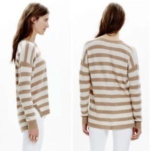 Madewell Warmlight Pullover Sweater In Stripe